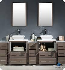 84 Double Sink Bathroom Vanity by Torino 84