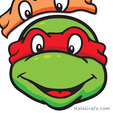 free tmnt pin mask ninja turtle printable