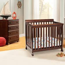 Davinci Emily Mini Crib Mattress by Davinci Kalani Mini Crib In Espresso M5598q Free Shipping