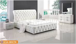 White King Size Bedroom Sets White King Bedroom Furniture Vivo Furniture
