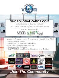 vapors knoll shopglobalvapor trade show advertisement png