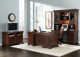 Home Office Furniture Stores Near Me Jr Executive 5 Home Office Set In Cherry Finish By