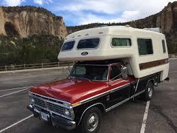 Ford F250 Truck Tent - love the all fiberglass ford truck camper http www