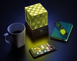 Supernova Lights Supernova Light Cube Led Bluetooth Speaker Thinkgeek