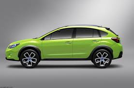 green subaru 2011 subaru xv concept pictures news research pricing