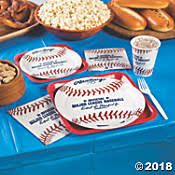 baseball party supplies 150 party themes birthdays office more