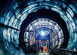 tunnel ice tunnel exhibition to open window into the hidden world of