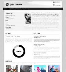 15 free elegant modern cv resume templates psd freebies designer