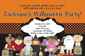 halloween birthday party invitations wblqual com
