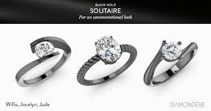 black gold rings images Black gold rings for men women diamondere blog jpg