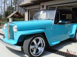 willys jeepster for sale jeepster custom interior