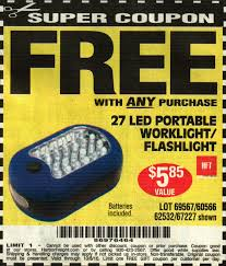 Portable Work Light Harbor Freight Tools Coupon Database Free Coupons 25 Percent