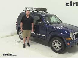 Jeep Liberty Tonneau Cover Sportrack Roof Cargo Carrier Review 2005 Jeep Liberty