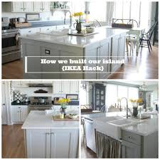 how to assemble ikea kitchen cabinets ikea hack how we built our kitchen island jeanne oliver