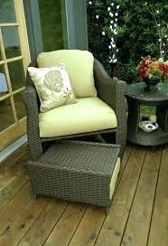 patio furniture with ottomans outdoor chairs with ottoman mesmerizing outdoor wicker chair with