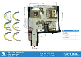 twin towers floor plans the arc tower shams abu dhabi al reem island
