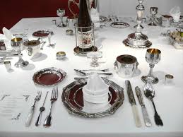 Setting The Table by Table Manners Via Emily Post Pic From Wikipedia Good To Know