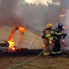 Barn Fires Polk Co Firefighters Battle 3 Fires Dry Conditions