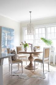 burlap dining chairs transitional dining room