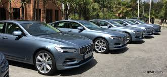 volvo test drive the new volvo s90 first drive comfortable elegant safe and