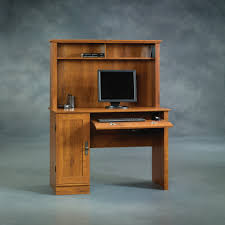 2 Tier Computer Desk Furniture Mezmerizing Computer Desk With Hutch For Study Room