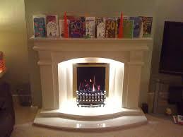 fireplace with led strip lighting good fireplace lighting ideas