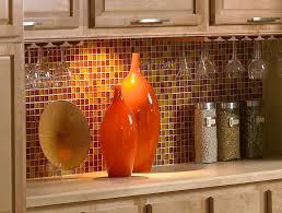Red Tile Backsplash - kitchen bright colored kitchen backsplash ideas unusual red tile
