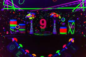 neon party kara s party ideas glow birthday party kara s party ideas