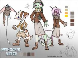 Mokoi Deviantart - cold weather gear concept by dreamkeepers on deviantart