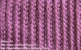 stripe stitch free knitting tutorial knitting pattern