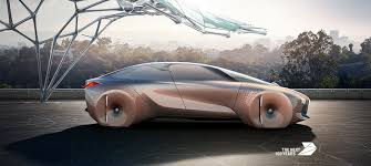 futuristic cars interior bmw u0027s crazy shape shifting vision next 100 car is straight out of