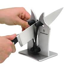 How To Sharpen Serrated Kitchen Knives Amazon Com Brod U0026 Taylor Professional Knife Sharpener Kitchen