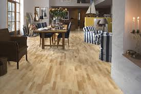 3 Strip Laminate Flooring Kahrs Maple Toronto Satin Lacquered 3 Strip