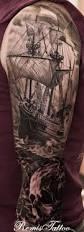 best 25 pirate ship tattoos ideas on pinterest black pirate