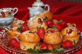 la cuisine de jackie muffins aux fraises la cuisine de jackie