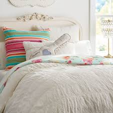 Pb Essential Duvet Cover Review Junk Gypsy Crocheted Lace Duvet Cover Pbteen