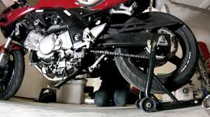 sv 650 chain adjustment youtube
