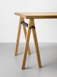 Minimalist Table by Slot Trestle Trestle Tables Minimalist And Hardware