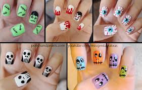 cute easy halloween nail ideas how you can do it at home