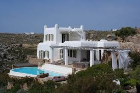luxury villa artisti greece greek islands cyclades islands