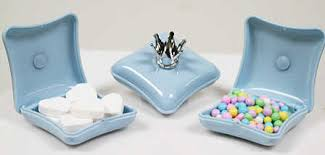 Prince Favors by Blue Prince Crown Pillow Favor Boxes Package Of 12 It S A Boy