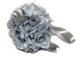 silver flowers suggested flowers for a and silver september wedding the