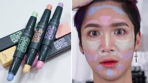 etude house play 101 stick color contour duo review swatches