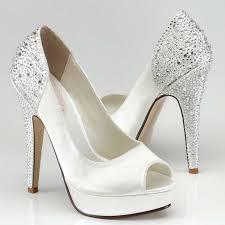 chaussure de mariage chaussures mariage talon haut recouvert de cristal instant précieux
