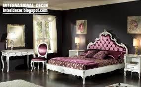 Luxury Classic Bedrooms Furniture Italian Designs - Italian design bedroom furniture
