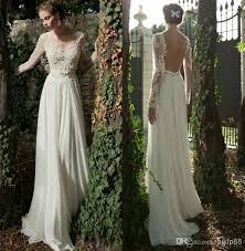 discount wedding dresses uk discount bateau a line backless wedding dress sheer sleeve