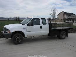 Ford F350 Diesel Trucks - west auctions auction trucks trailers backhoe construction