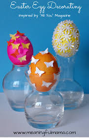 easter egg decorating inspired by