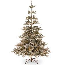 national tree 6ft snowy imperial blue spruce feel real artificial
