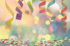 photo booth backdrops colorful ribbons party photo backdrop confettis polka dots